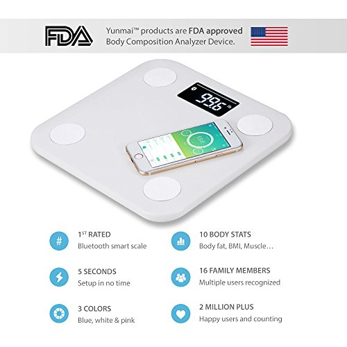 1-Smart-Scale-Brand-Yunmai-FDA-Listed-2-Million-Users-Bluetooth-Body-Fat-Scale-Body-Composition-Monitor-with-Free-Fitness-App-and-Extra-Large-Display-0-0
