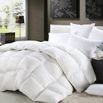 1200-Thread-Count-Siberian-Goose-Down-Comforter-100-Egyptian-Cotton-750FP-50oz-1200TC-White-Stripe-0