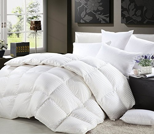 1200-Thread-Count-Siberian-Goose-Down-Comforter-100-Egyptian-Cotton-750FP-50oz-1200TC-White-Stripe-0
