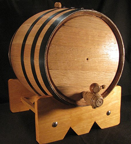 20L-American-Oak-Barrel-with-Black-Bands-20lb-0