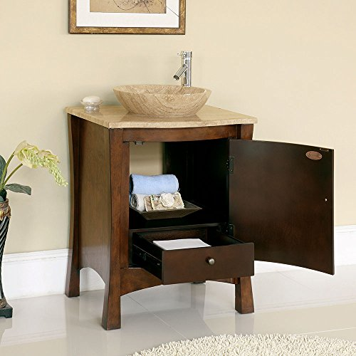 26-Bathroom-Furniture-Travertine-Top-Double-Sink-Vanity-Cabinet-714T-0-0