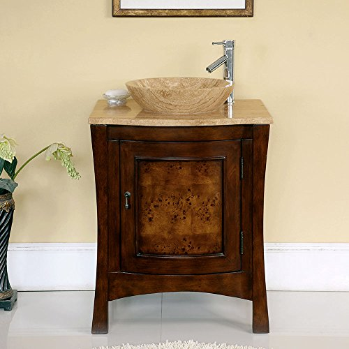 26-Bathroom-Furniture-Travertine-Top-Double-Sink-Vanity-Cabinet-714T-0