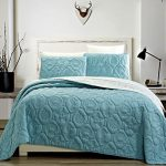 3-Piece-Tropical-Coast-Seashell-Beach-Bedspreads-Coverlet-Embossed-Bed-Cover-sets-Sea-Shells-Sea-Horse-Starfish-etc-Full-Queen-King-and-Cal-King-Bed-Cover-0