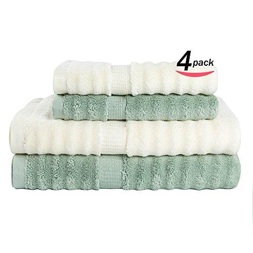 4-Pieces-Towel-Set-2-Bath-Towels2-Hand-Towels-Bamboo-Fiber-Luxury-Bath-Sheet-Hand-Towel-for-HomeHotel-0