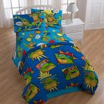 4pc-Teenage-Mutant-Ninja-Turtles-Twin-Bedding-Set-TMNT-Team-Turtles-Comforter-and-Sheet-Set-0
