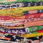 5-Pieces-Mix-Lot-Whole-Sale-Tribal-Kantha-Quilts-Vintage-Cotton-Bed-Cover-Throw-Old-Assorted-Patches-Made-Rally-0
