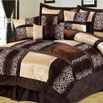 7-Piece-Leopard-Patchwork-Faux-Fur-Microfiber-Comforter-Set-0