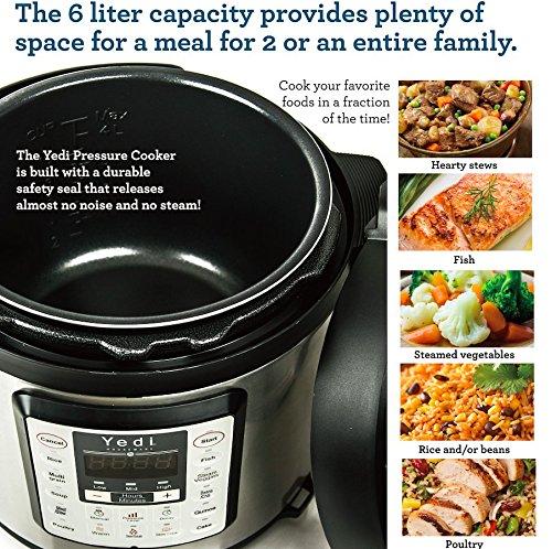 7-in-1-Multi-Functional-Pressure-Cooker-6Qt1000W-by-Yedi-Houseware-0-1