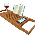 AZT-Plus-Luxury-Organic-Bamboo-Bathtub-Caddy-Tray-with-Extending-Sides-0-0