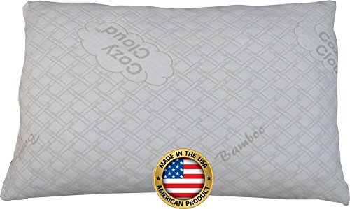Adjustable-Bamboo-Pillow-By-CozyCloud-4-Xs-More-Bamboo-Than-Other-Brands-Deluxe-Shredded-Memory-Foam-Support-Thick-Medium-Thin-Heights-With-Travel-Bolster-All-USA-Made-0-0