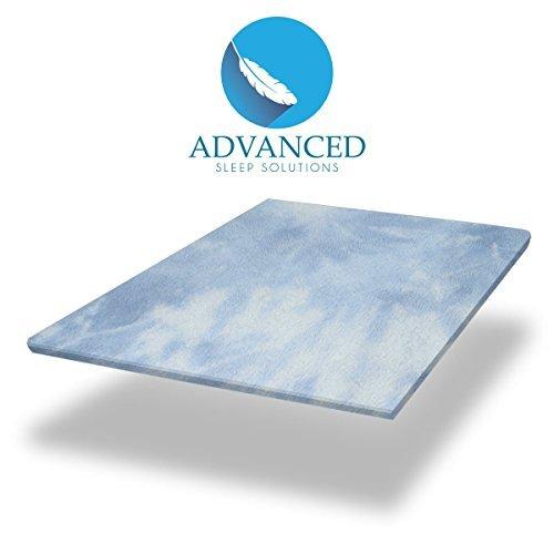 Advanced-Sleep-Solutions-Memory-Foam-Gel-Mattress-Topper-0