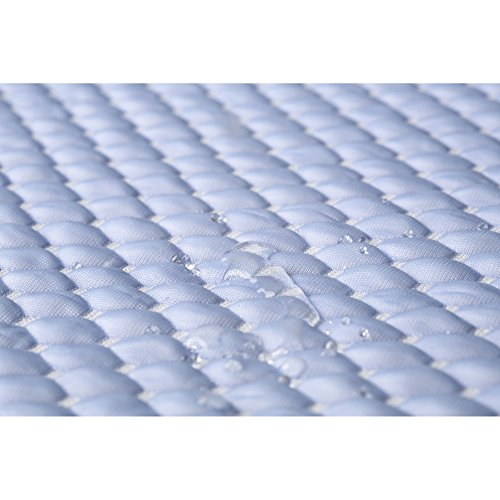 Aere-Crystal-Gel-Mattress-Protector-with-Cooling-Fibers-and-Blue-3-D-Fabric-Queen-0-0
