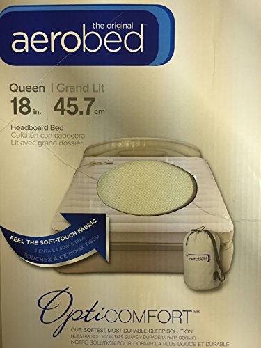 AeroBed-Queen-Size-18-Double-Height-Air-Matress-with-Headboard-Bed-OptiComfort-Easy-AC-Pump-Hand-Control-0