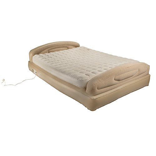 Aerobed-Elevated-Queen-Size-Sleigh-Bed-Wcushion-Top-0