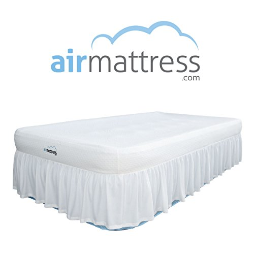 AirMattresscom-BEST-CHOICE-Air-Mattress-with-Hypoallergenic-Bamboo-Bed-Sheet-Skirt-and-High-Capacity-Air-Bed-Pump-0-0