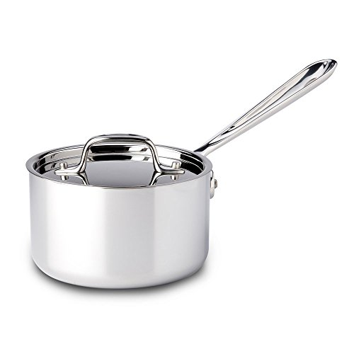 All-Clad-4201-Stainless-Steel-Tri-Ply-Bonded-Dishwasher-Safe-Sauce-Pan-with-Lid-Cookware-0