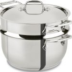 All-Clad-E414S564-Stainless-Steel-Steamer-Cookware-5-Quart-Silver-0