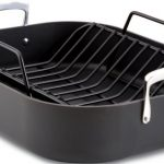 All-Clad-E87599-Hard-Anodized-Aluminum-Scratch-Resistant-Nonstick-Anti-Warp-Base-16-Inch-by-13-Inch-Large-Roaster-Roasting-Pan-with-Nonstick-Rack-Cookware-Black-0