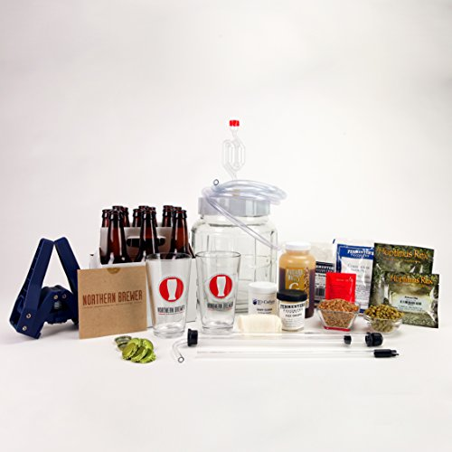 All-Inclusive-Go-Pro-1-Gallon-Small-Batch-Beer-Brewing-Starter-Kit-Equipment-Set-with-Chinook-IPA-Beer-Recipe-Kit-0-0