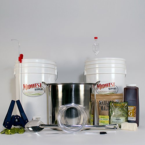 All-Inclusive-Platinum-Pro-Homebrew-Beer-Brewing-Starter-Kit-with-Front-Porch-Pale-Ale-Beer-Recipe-Kit-and-Brew-Kettle-0