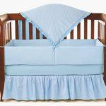 American-Baby-Company-Heavenly-Soft-Minky-Dot-4-Piece-Crib-Set-0