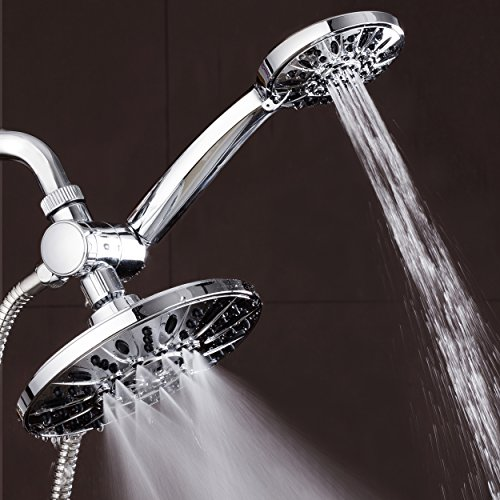 AquaDance-7-Premium-High-Pressure-3-way-Rainfall-Shower-Combo-Combines-the-Best-of-Both-Worlds-Enjoy-Luxurious-6-Setting-Rain-Showerhead-and-6-setting-Hand-Held-Shower-Separately-or-Together-0-1