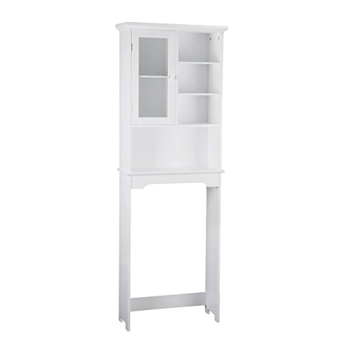 Asensefurniture-High-White-Bathroom-Over-Toilet-Storage-Shelves-Cabinet-Simple-Living-0