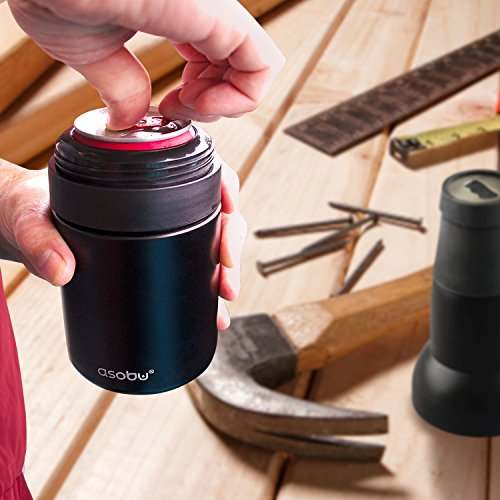 Asobu-Frosty-Beer-2-Go-Vacuum-Insulated-Double-Walled-Stainless-Steel-Beer-Bottle-and-Can-Cooler-with-Beer-Opener-0-0