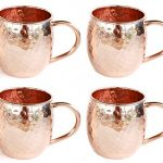 Authentic-Moscow-Mule-Copper-Mugs-Set-of-4-100-Pure-Copper-Mugs-Gift-Set-16-Oz-Handmade-Copper-Mugs-with-BONUS-Shot-Glass-in-Elegant-Gift-Box-Free-recipe-book-included-0-1