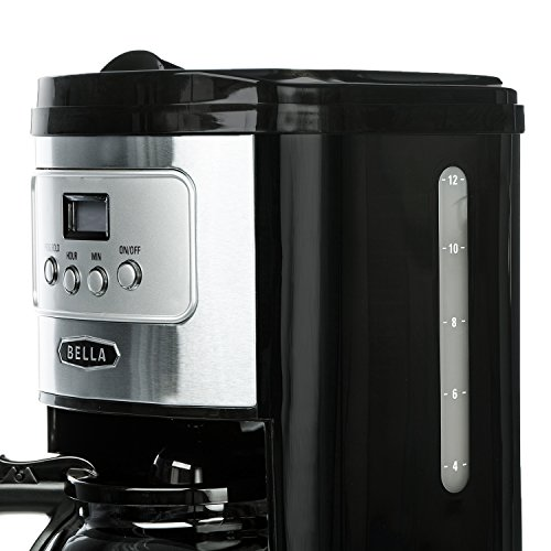 BELLA-Classics-12-Cup-Programmable-Coffee-Maker-Bold-Brew-Stainless-and-Chrome-0-0
