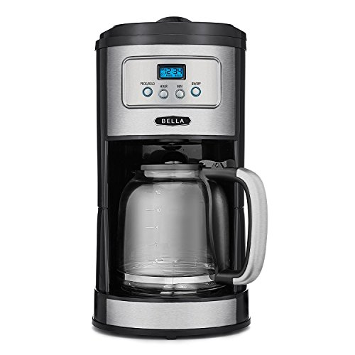 BELLA-Classics-12-Cup-Programmable-Coffee-Maker-Bold-Brew-Stainless-and-Chrome-0