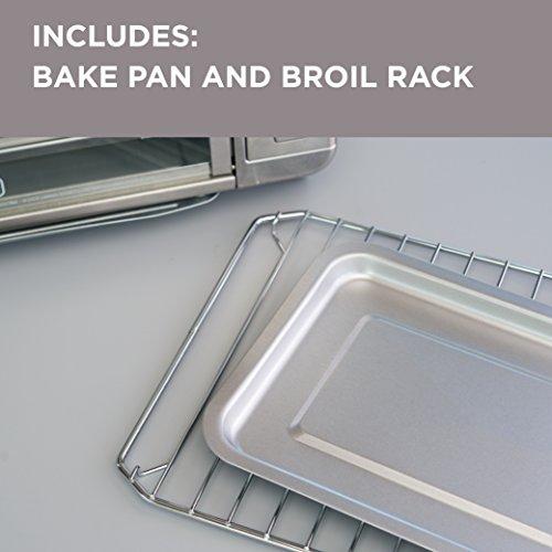 BLACKDECKER-CTO6335S-6-Slice-Digital-Convection-Countertop-Toaster-Oven-Includes-Bake-Pan-Broil-Rack-Toasting-Rack-Stainless-Steel-Digital-Convection-Toaster-Oven-0-1