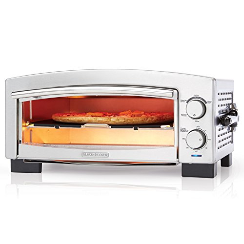 BLACKDECKER-P300S-5-Minute-Pizza-Oven-Snack-Maker-Pizza-Oven-Toaster-Oven-Stainless-Steel-0