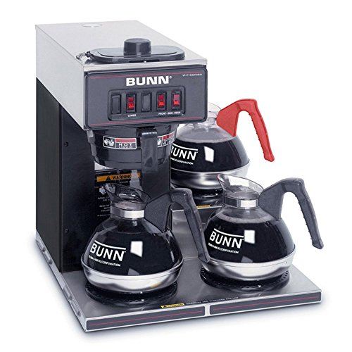 BUNN-VP17-3-SS-Pourover-Commercial-Coffee-Brewer-with-Three-Lower-Warmers-Stainless-Steel-0