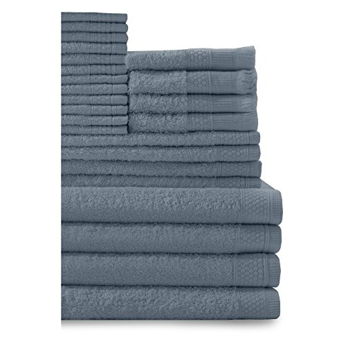 Baltic-Linen-Company-Multi-Count-100-Percent-Cotton-Complete-24-Piece-Towel-Set-0