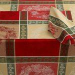 Bardwil-Holiday-Holly-Wreath-Jacquard-Tablecloth-0