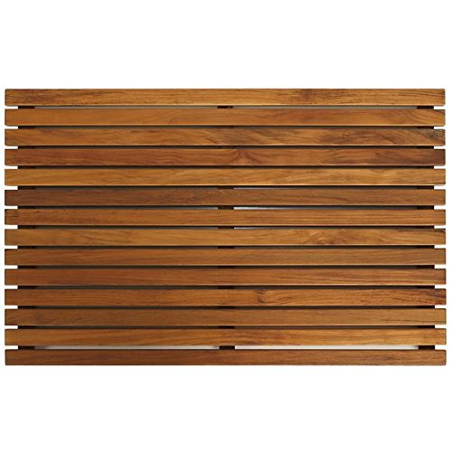 Bare-Decor-Zen-Spa-Shower-or-Door-Mat-in-Solid-Teak-Wood-and-Oiled-Finish-315-by-195-Inch-0