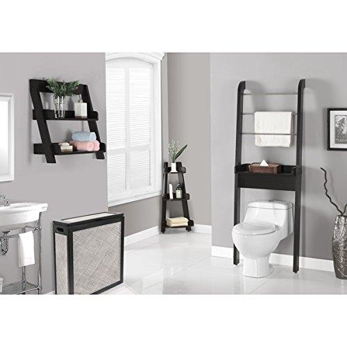 Bathroom-Shelving-Cappuccino-34-inch-Corner-Etagere-0
