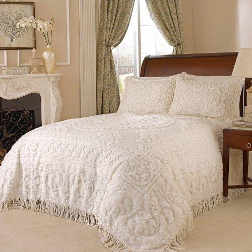 Beatrice-Home-Fashions-Medallion-Chenille-Bedspread-0