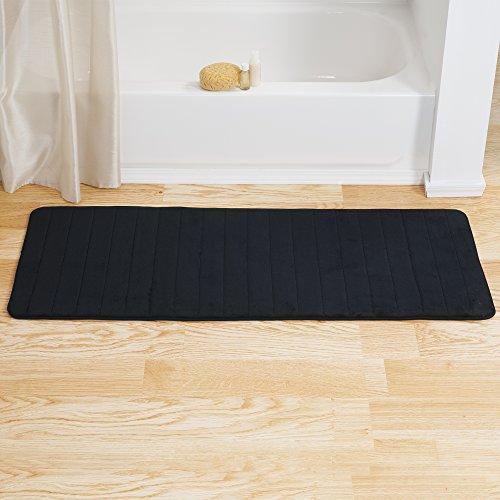 Bedford-Home-Memory-Foam-Striped-Extra-Long-Bath-Mat-0