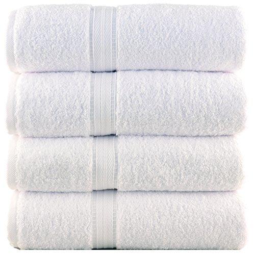 Bergamo-Luxury-Hotel-Spa-Bath-Towel-100-Percent-Genuine-Turkish-Cotton-Set-of-4-700-Gsm-0