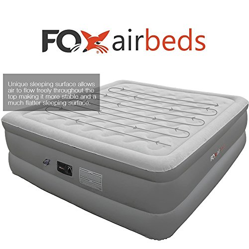 Best-Inflatable-Air-Bed-By-Fox-Airbeds-Plush-High-Rise-Air-Mattress-in-California-King-Size-0-0