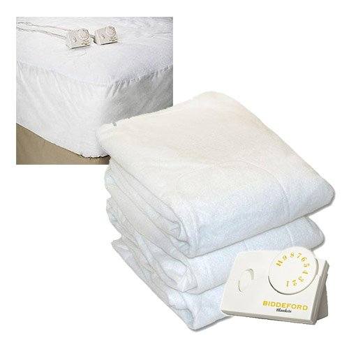 Biddeford-Heated-Mattress-Pad-White-0
