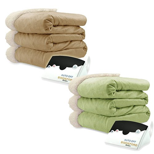 Biddeford-Micro-Mink-and-Sherpa-Electric-Heated-Blanket-Assorted-Sizes-Colors-0