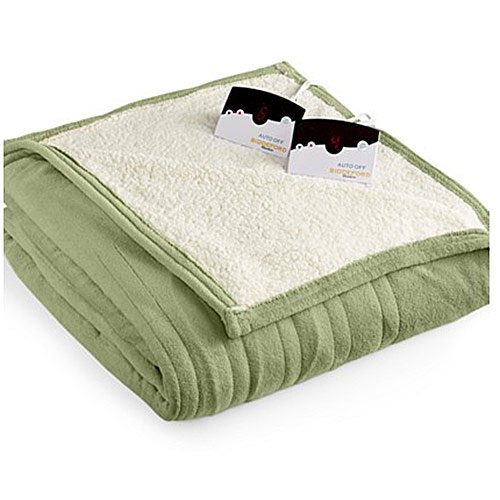 Biddeford-MicroPlush-Sherpa-Electric-Heated-Warming-Blankets-Twin-Full-Queen-King-0-0
