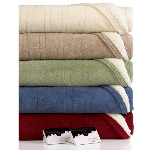 Biddeford-MicroPlush-Sherpa-Electric-Heated-Warming-Blankets-Twin-Full-Queen-King-0