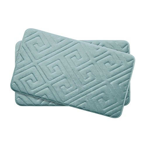 Bounce-Comfort-Extra-Thick-Memory-Foam-Bath-Mat-Set-Caicos-Premium-Plush-2-Piece-Set-with-BounceComfort-Technology-0
