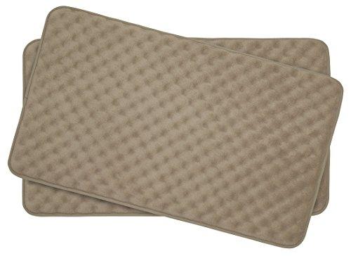 Bounce-Comfort-Extra-Thick-Memory-Foam-Bath-Mat-Set-Massage-Plush-2-Piece-Set-with-BounceComfort-Technology-0