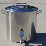 CONCORD-Stainless-Steel-Home-Brew-Kettle-Stock-Pot-Weldless-Fittings-0