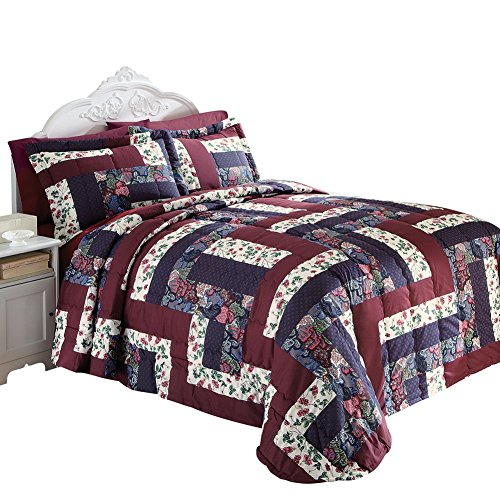 Caledonia-Quilted-Patchwork-Bedspread-0